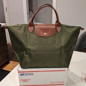 Longchamp Bag Military Green
